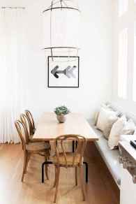 55 simple diy wooden dining table ideas that will inspire you (8)