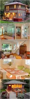 65 cute tiny house ideas & organization tips (34)