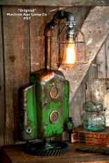 70 cheap diy industrial pipe lamps ideas to decor your home (22)