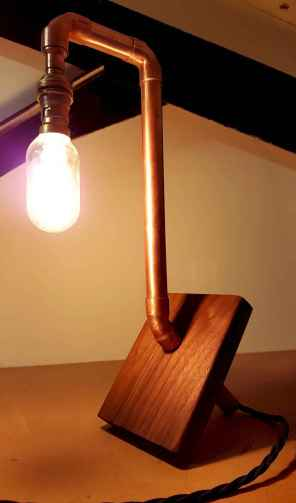70 cheap diy industrial pipe lamps ideas to decor your home (9)