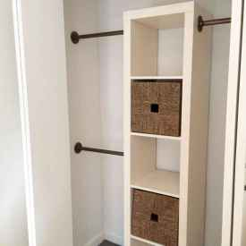 70+ effective small house hacks & tips to organizing (44)