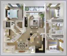Best small apartment living room layout ideas (21)