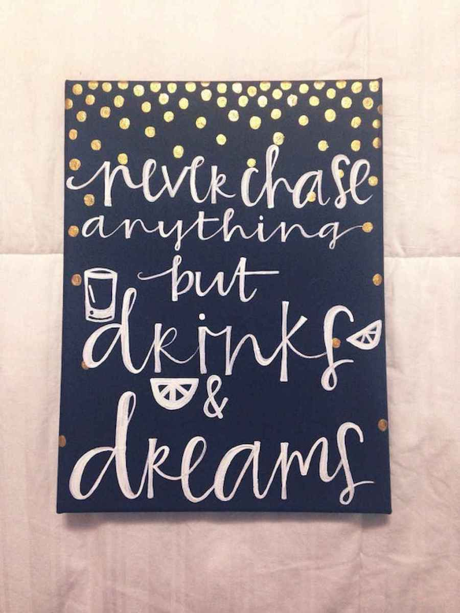 Best wall decoration canvas painting ideas with inspirational quotes (6)