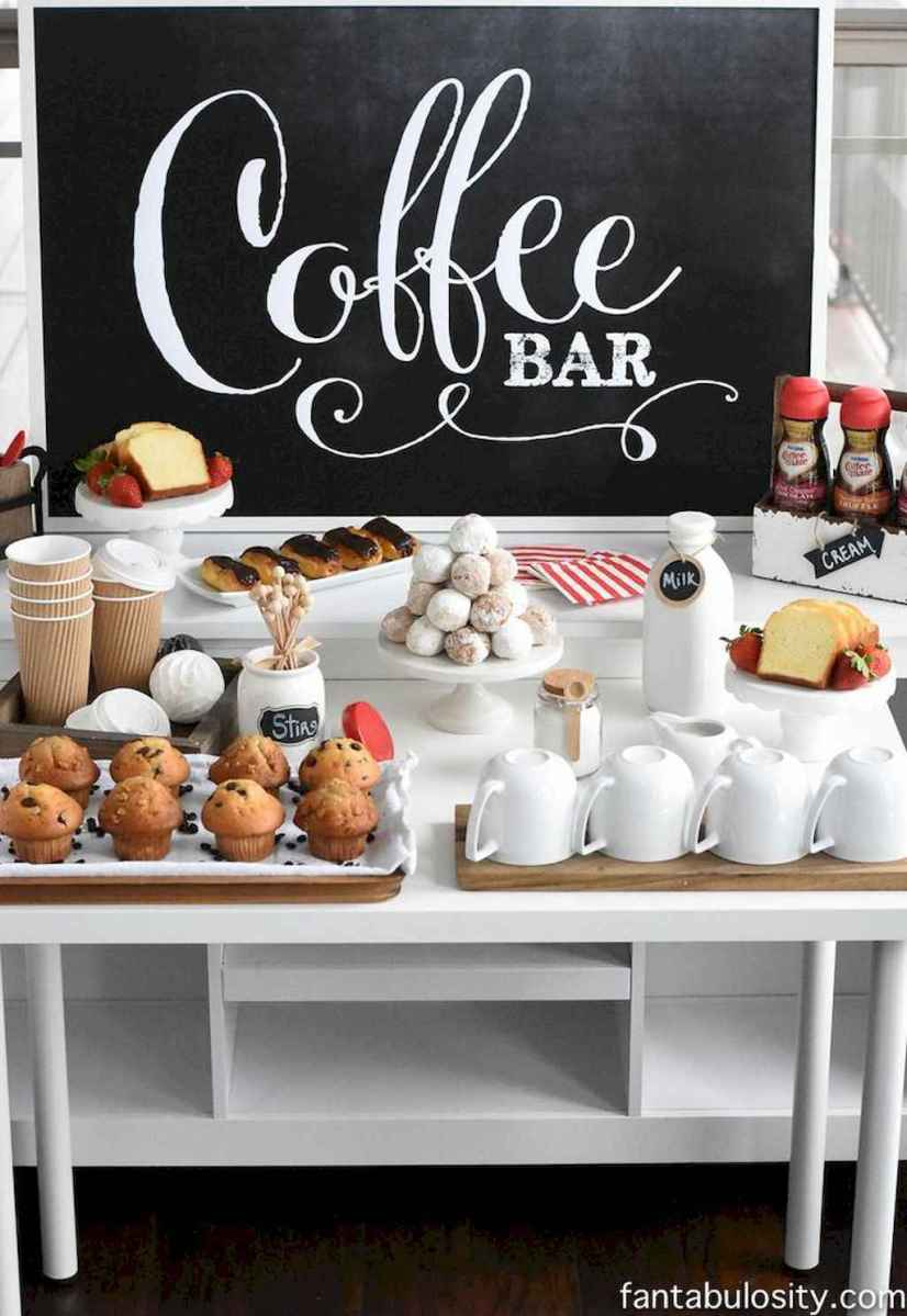 Diy home coffee bar ideas for coffee addict (20)