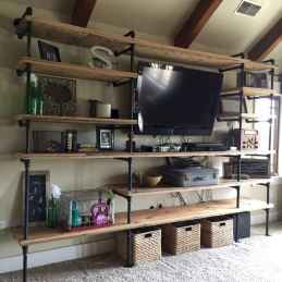 Easy diy pipe shelves ideas on a budget (41)