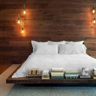 Elegant diy wooden platform bed design ideas (25)