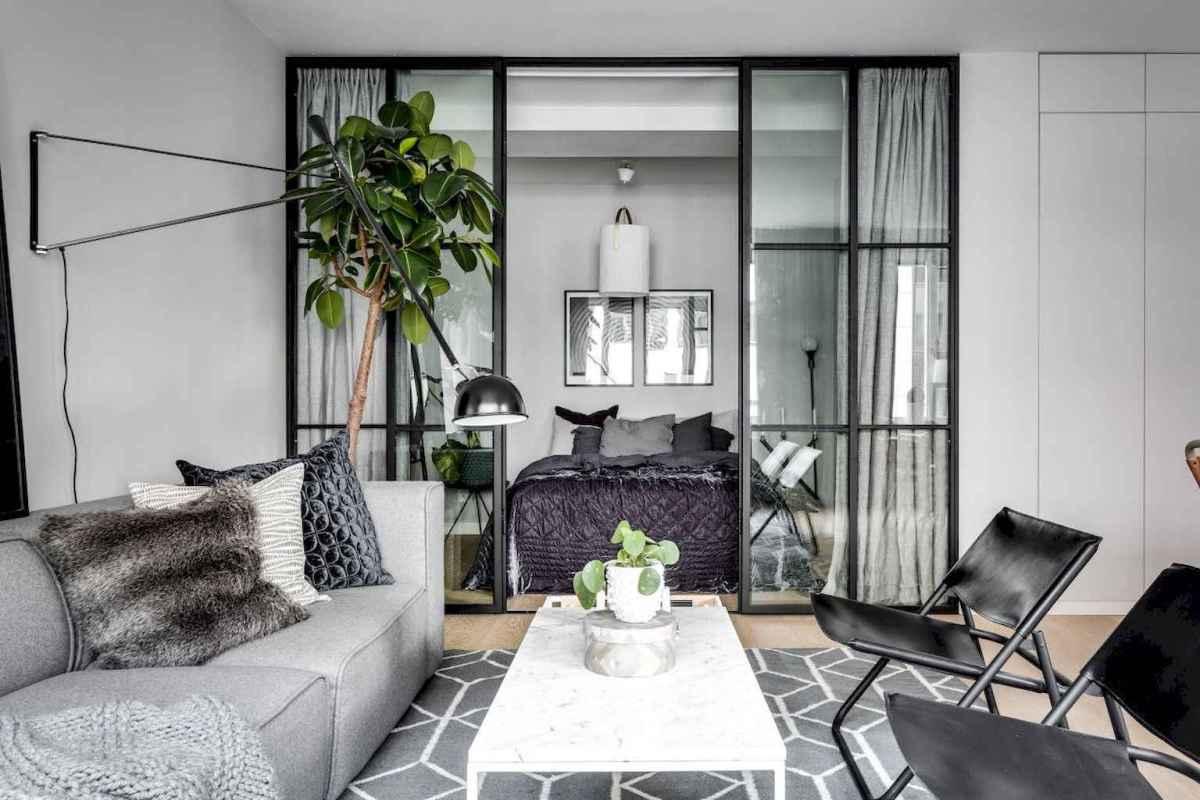 Elegant scandinavian interior decorating ideas for small spaces (10)