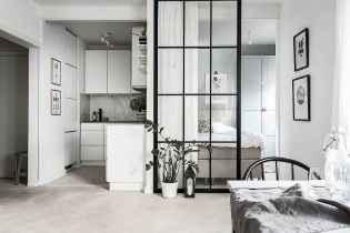 Elegant scandinavian interior decorating ideas for small spaces (46)