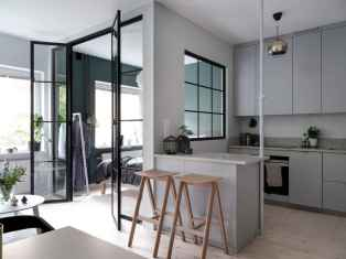 Elegant scandinavian interior decorating ideas for small spaces (67)