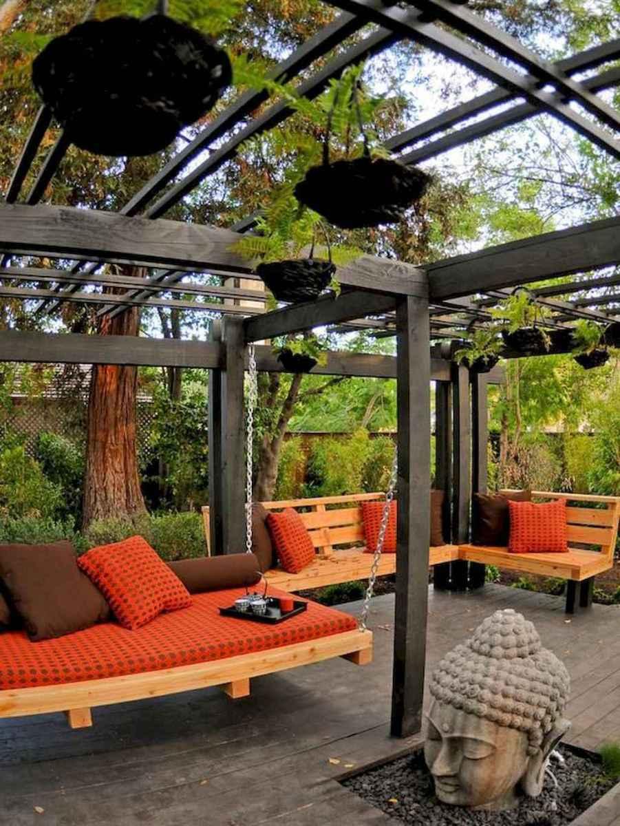 Incredible wood backyard pavilion design ideas outdoor (34)