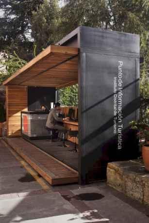 Incredible wood backyard pavilion design ideas outdoor (54)