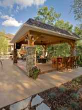 Incredible wood backyard pavilion design ideas outdoor (69)
