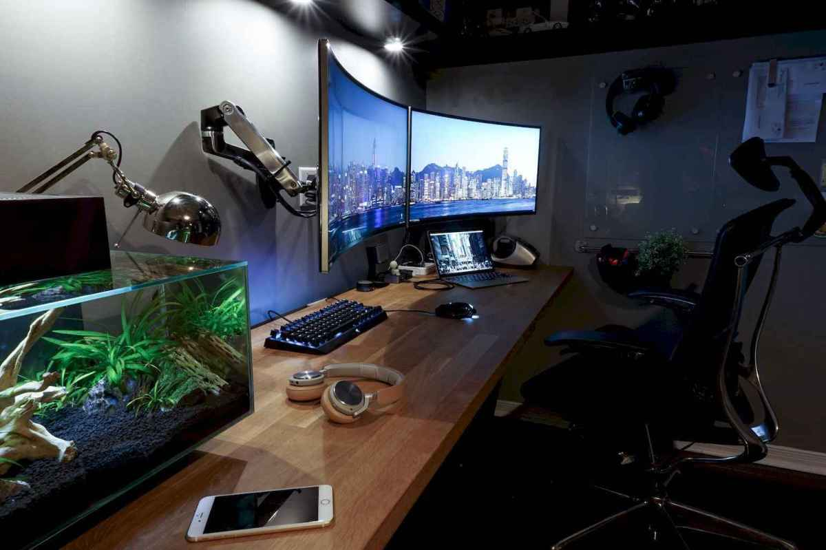 Incredibly computer desk design ideas (10)