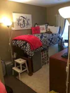 Most efficient dorm room ideas organization (18)