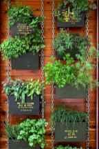 Adorable diy container herb garden design ideas (10)