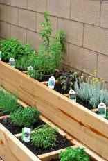 Adorable diy container herb garden design ideas (32)