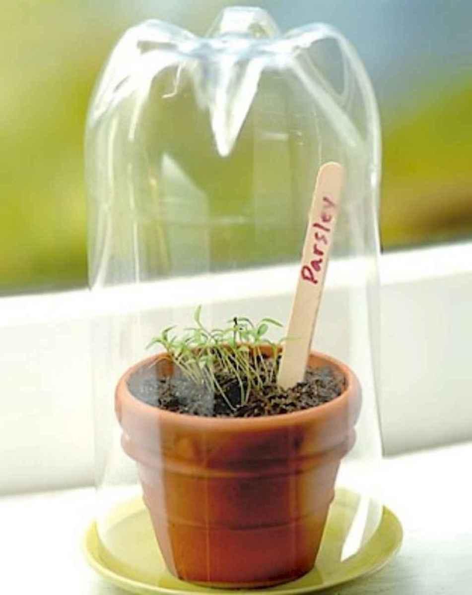 Adorable diy container herb garden design ideas (40)