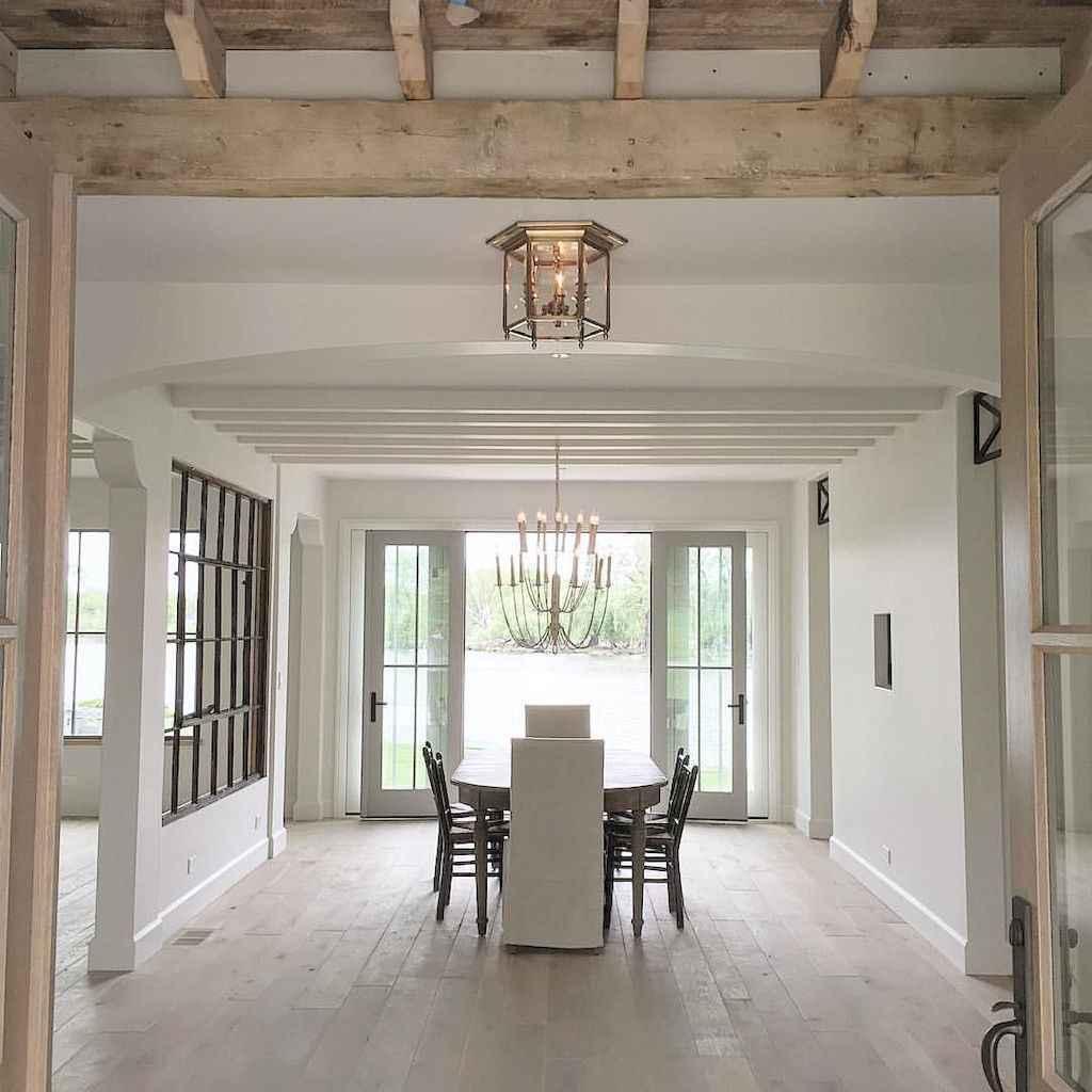 Modern farmhouse dining room decor ideas (25)