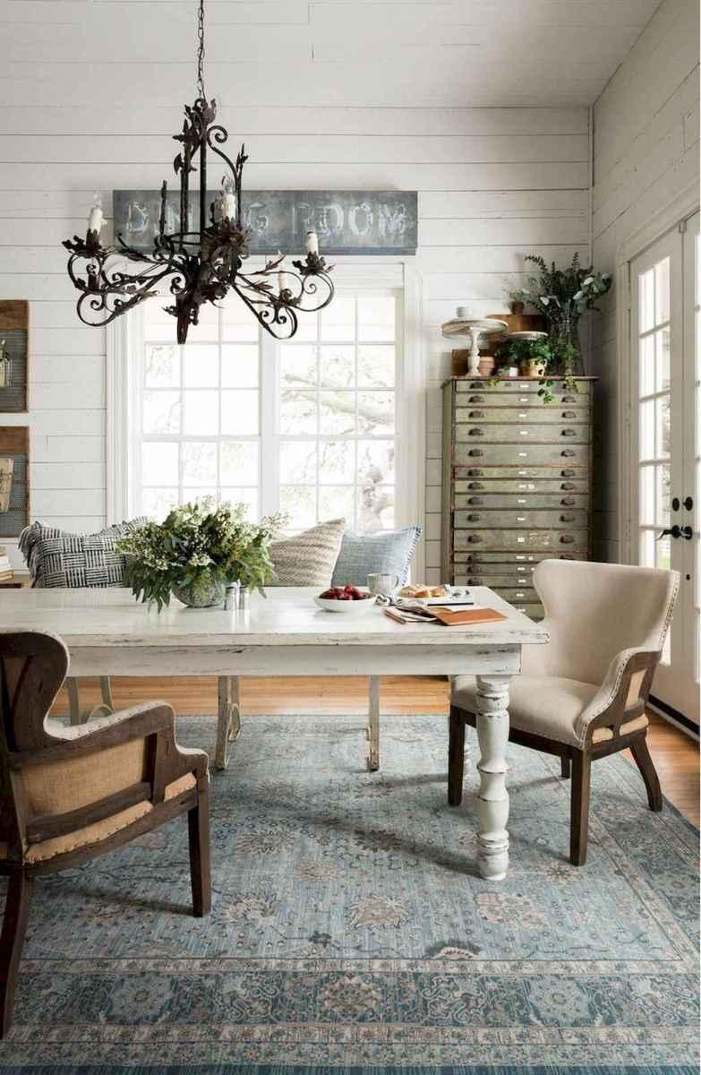 Modern farmhouse dining room decor ideas (28)