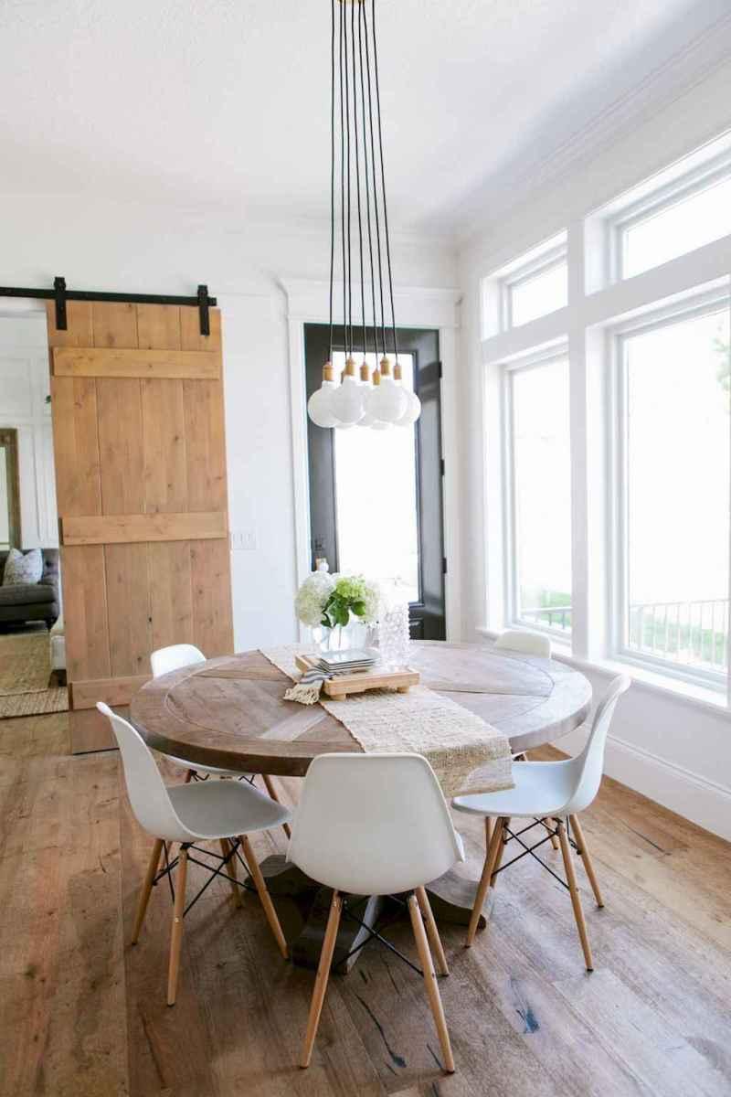 Modern farmhouse dining room decor ideas (3)