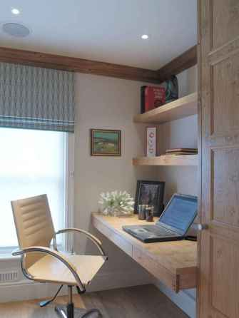Simple home office decor ideas for men (31)