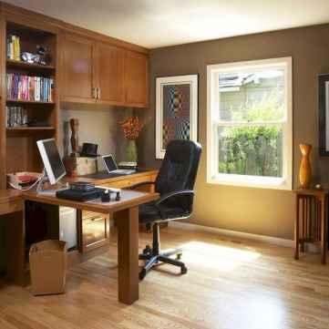 Simple home office decor ideas for men (34)