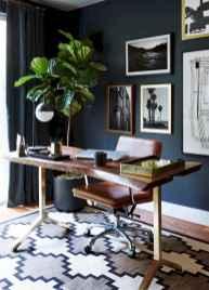 Simple home office decor ideas for men (44)