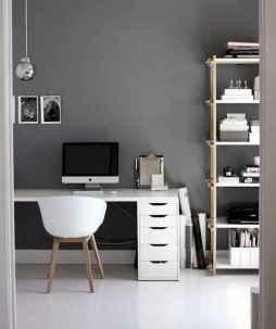 Simple home office decor ideas for men (49)