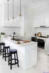 034 luxury black and white kitchen design ideas