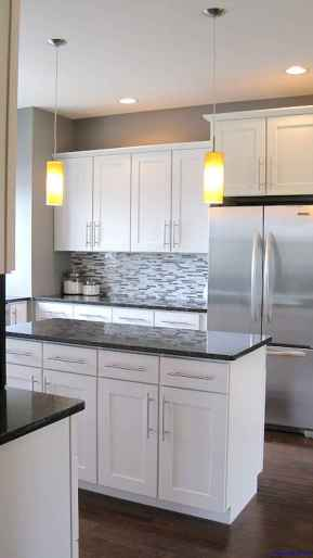 041 luxury black and white kitchen design ideas