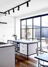 052 luxury black and white kitchen design ideas