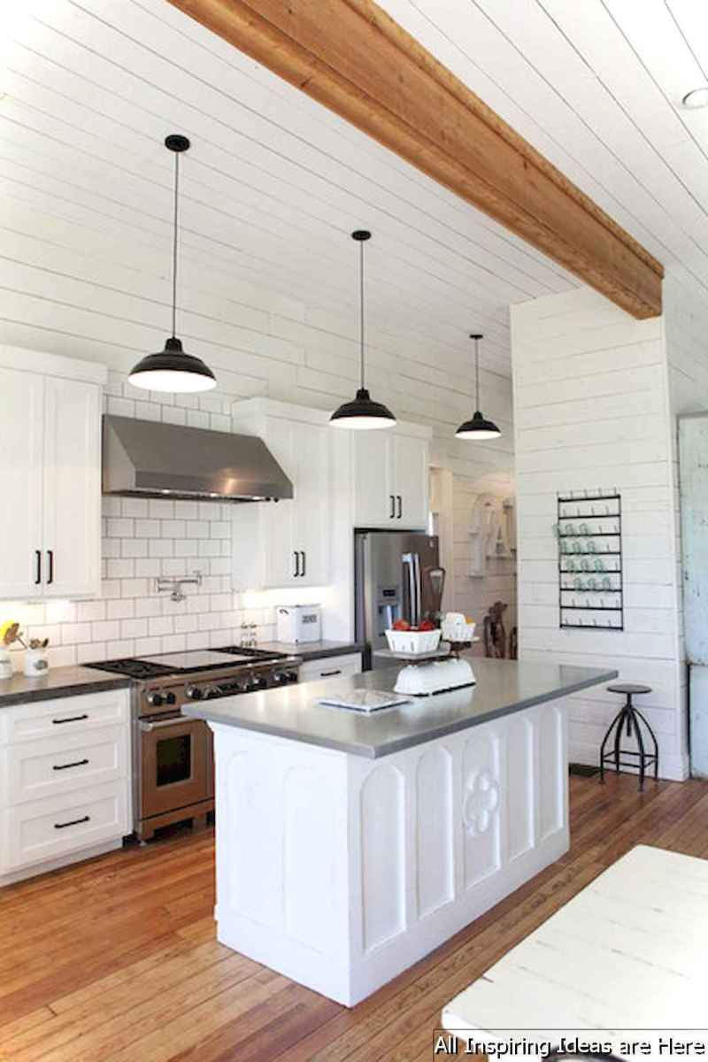 078 awesome modern farmhouse kitchen cabinets ideas