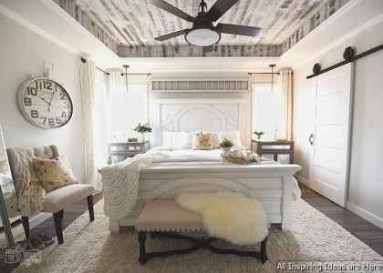 24 beautiful modern farmhouse bedroom master suite ideas