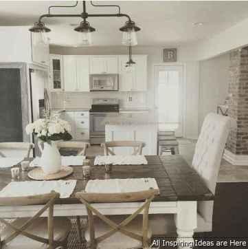 28 chic modern farmhouse kitchen decor ideas