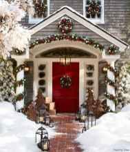 Beautiful 45 christmas porch decor ideas
