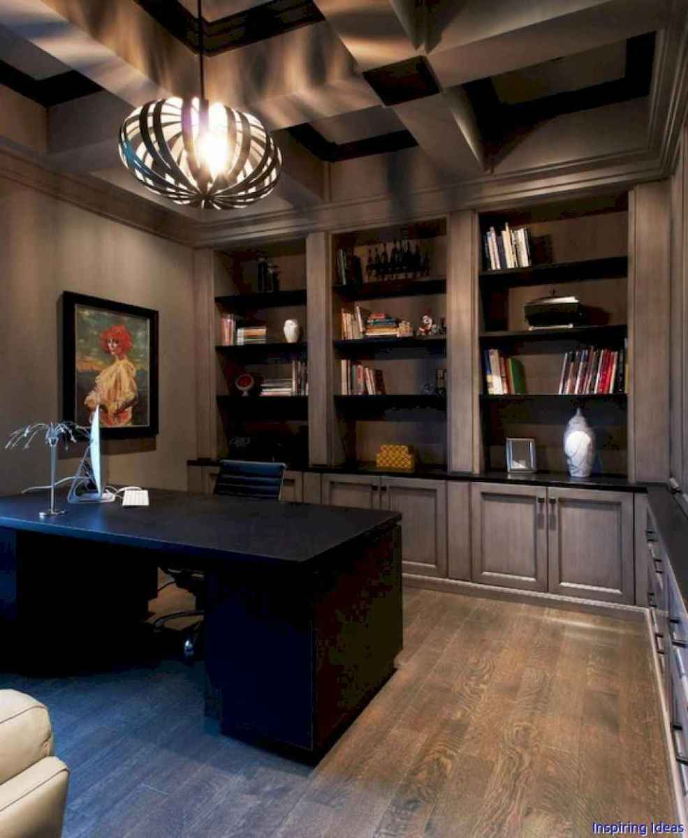 Masculine apartment decorating ideas for men 65
