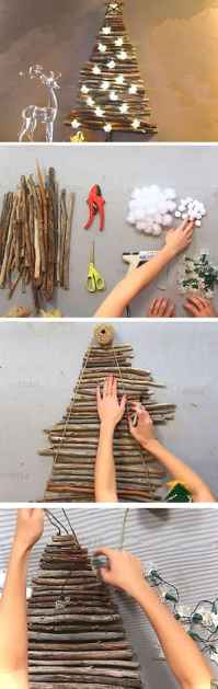 Simple christmas decorations ideas for the home 25