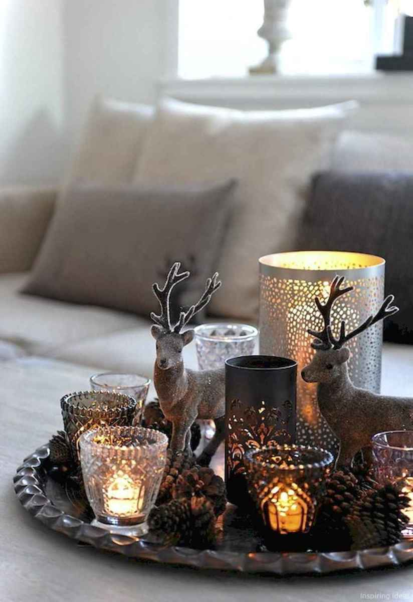 Simple christmas decorations ideas for the home 26