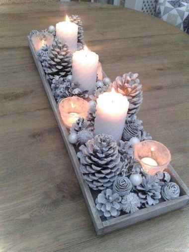 Simple christmas decorations ideas for the home 53