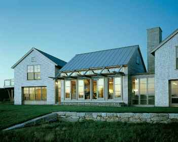 Traditional cape cod house exterior ideas 002