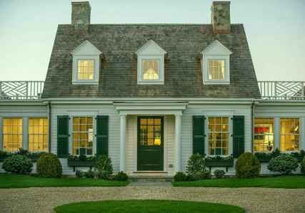 Traditional cape cod house exterior ideas 018