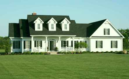 Traditional cape cod house exterior ideas 024