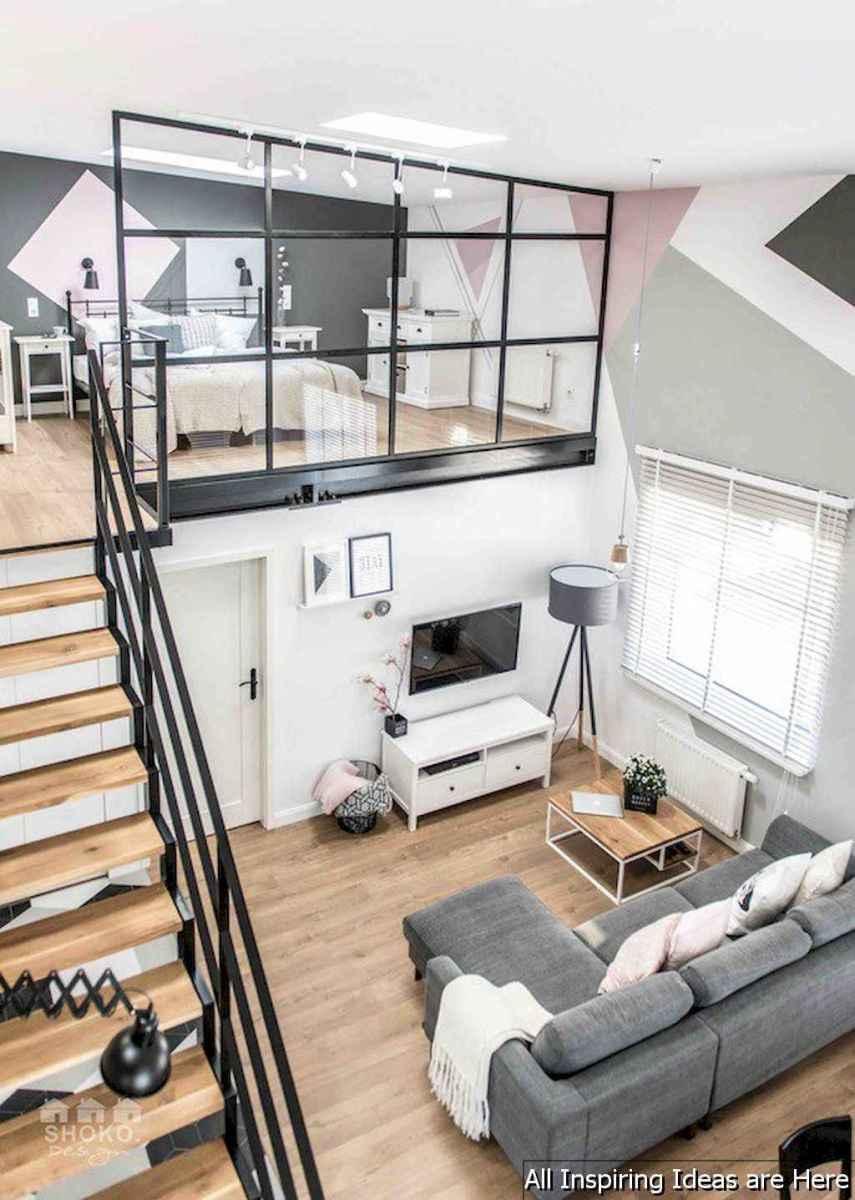 0019 stunning loft bedroom design ideas