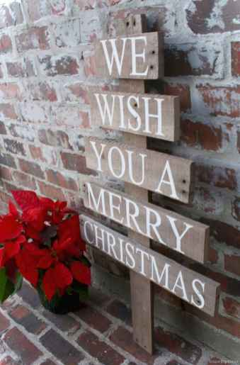 0025 peaceful christmas outdoor decorations ideas