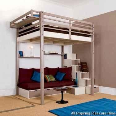 0027 interesting small loft bedroom design ideas