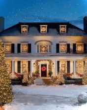 0029 peaceful christmas outdoor decorations ideas