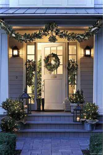 0041 peaceful christmas outdoor decorations ideas