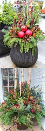 0043 peaceful christmas outdoor decorations ideas