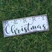 Adorable christmas signs design ideas handmade 0041