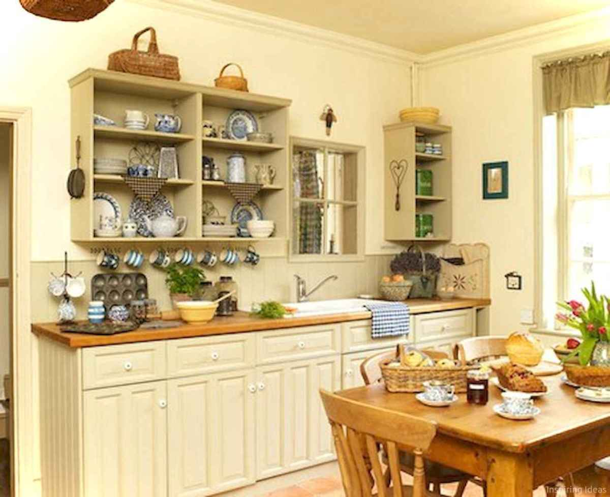 010 inspiring cottage kitchen cabinets ideas country style